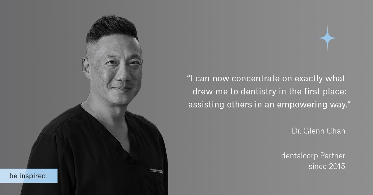 Dr. Glenn Chan - dentalcorp Partner since 2015